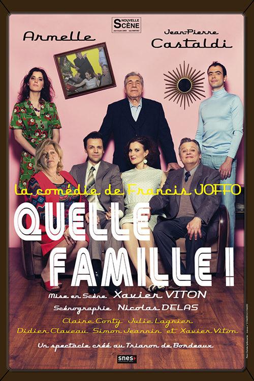 Théâtre Quelle famille ! - 10 décembre 2021 - La Hune